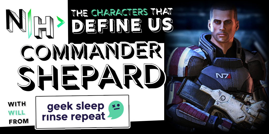 Commander Shepard: The Character That Defines Will from Geek. Sleep. Rinse. Repeat